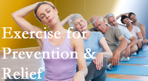 Satterwhite Chiropractic recommends exercise as a key part of the back pain and neck pain treatment plan for relief and prevention.