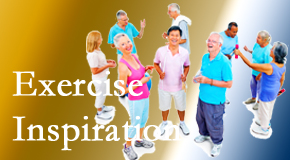 Satterwhite Chiropractic hopes to inspire exercise for back pain relief by listening closely and encouraging patients to exercise with others.