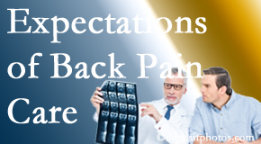 The pain relief expectations of Oxford back pain patients influence their satisfaction with chiropractic care. What is realistic?