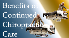 Satterwhite Chiropractic presents continued chiropractic care (aka maintenance care) as it is research-documented as effective.