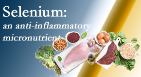 Satterwhite Chiropractic shares details about the micronutrient, selenium, and the detrimental effects of its deficiency like inflammation.