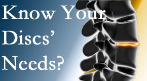 Your Oxford chiropractor knows all about spinal discs and what they need nutritionally. Do you?