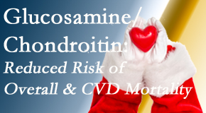 Satterwhite Chiropractic presents new research supporting the habitual use of chondroitin and glucosamine which is shown to reduce overall and cardiovascular disease mortality.