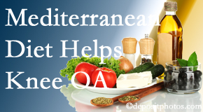 Satterwhite Chiropractic shares recent research about how good a Mediterranean Diet is for knee osteoarthritis as well as quality of life improvement.