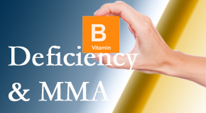 Satterwhite Chiropractic points out B vitamin deficiencies and MMA levels may affect the brain and nervous system functions.