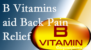 Satterwhite Chiropractic may include B vitamins in the Oxford chiropractic treatment plan of back pain sufferers.