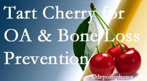 Satterwhite Chiropractic shares that tart cherries may improve bone health and prevent osteoarthritis.