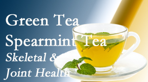 Satterwhite Chiropractic presents the benefits of green tea on skeletal health, a bonus for our Oxford chiropractic patients.