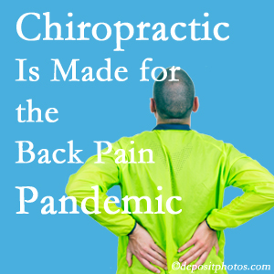 Oxford chiropractic care at Satterwhite Chiropractic is well-equipped for the pandemic of low back pain.