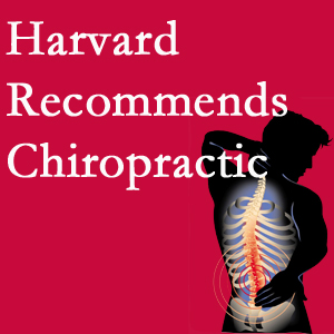 Satterwhite Chiropractic offers chiropractic care like Harvard recommends.