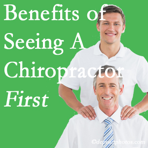 Getting Oxford chiropractic care at Satterwhite Chiropractic first may lessen the odds of back surgery need and depression.