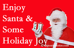 Oxford holiday joy and even fun with Santa are studied as to their potential for preventing divorce and increasing happiness.
