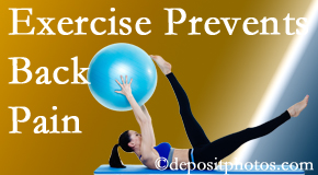 Satterwhite Chiropractic encourages Oxford back pain prevention with exercise.
