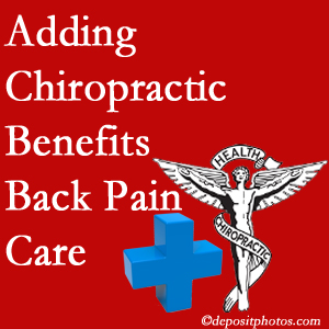 Added Oxford chiropractic to back pain care plans works for back pain sufferers.