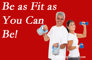 Satterwhite Chiropractic urges Oxford chiropractic patients to be as fit as they can for their back and body's sake!