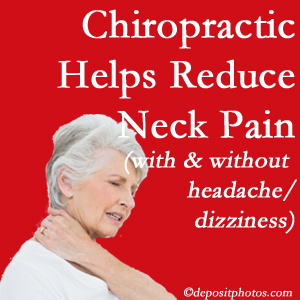Oxford chiropractic treatment of neck pain even with headache and dizziness relieves pain at a reduced cost and increased effectiveness.