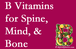 Oxford bone, spine and mind benefit from exercise and vitamin B intake.