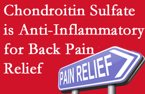 Oxford chiropractic treatment plan at Satterwhite Chiropractic may well include chondroitin sulfate!