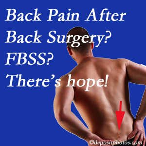 Oxford chiropractic care has a treatment plan for relieving post-back surgery continued pain (FBSS or failed back surgery syndrome).