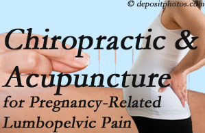 Oxford chiropractic and acupuncture may help pregnancy-related back pain and lumbopelvic pain.