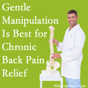 Gentle Oxford chiropractic treatment of chronic low back pain is best.