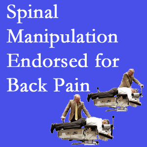 Oxford chiropractic care includes spinal manipulation, an effective,  non-invasive, non-drug approach to low back pain relief.