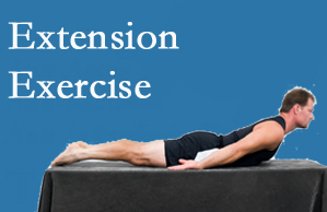 Satterwhite Chiropractic recommends extensor strengthening exercises when back pain patients are ready for them.