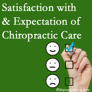 Oxford chiropractic care delivers patient satisfaction and meets patient expectations of pain relief.