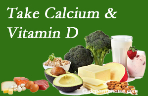 Satterwhite Chiropractic urges osteoporotic and osteoarthritic patients to take calcium and vitamin D to prevent fractures and save money.