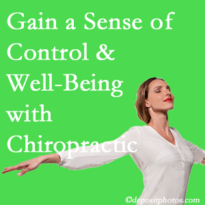 Using Oxford chiropractic care as one complementary health alternative improved patients sense of well-being and control of their health.
