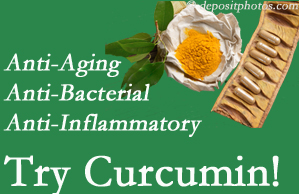 Pain-relieving curcumin may be a good addition to the Oxford chiropractic treatment plan.