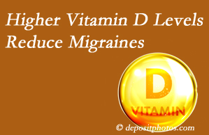 Satterwhite Chiropractic shares a new study that higher Vitamin D levels may reduce migraine headache incidence.