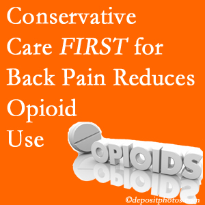 Satterwhite Chiropractic provides chiropractic treatment as an option to opioids for back pain relief.