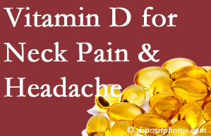 Oxford neck pain and headache may gain value from vitamin D deficiency adjustment.