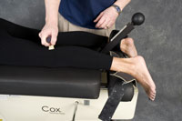 Oxford chiropractic trigger point therapy in the leg
